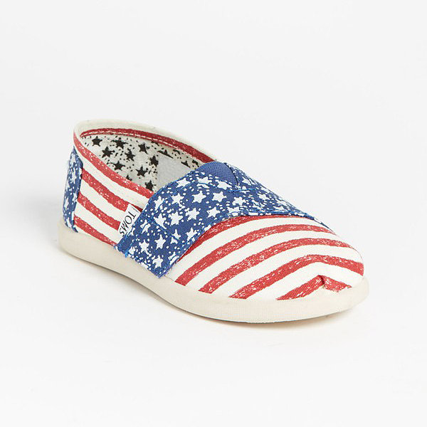 TOMS Stars & Stripes Slip-On