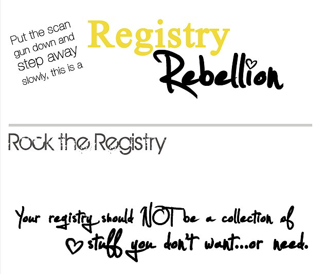Registry Rebellion