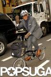 In November 2012, Al Roker rode his bike back from work in NYC.