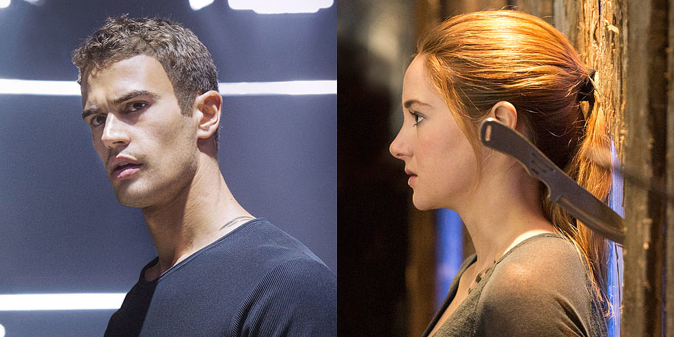 Divergent Gets Its First Magazine Cover With Shailene Woodley and Theo James