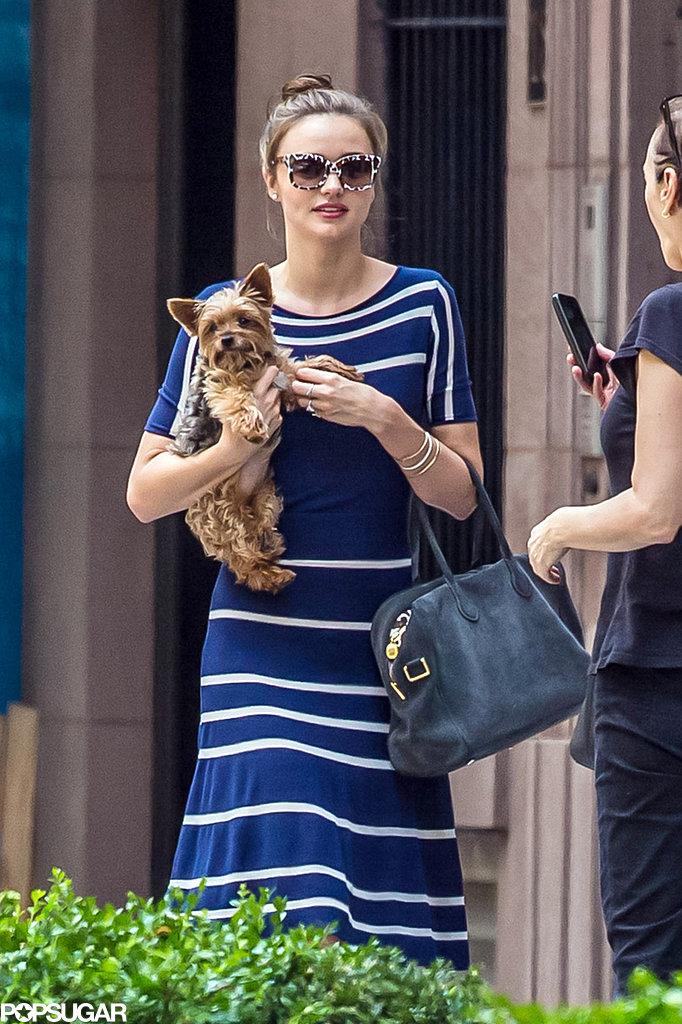 Miranda Kerr Kicks Off the Dog Days of Summer