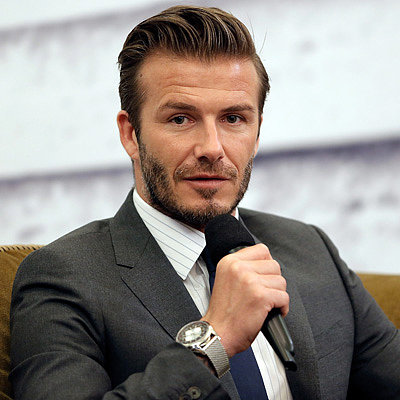 David Beckham Causes Stampede During Shanghai Visit