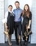 Phoebe Stephens, Derek Blasberg, and Annette Stephens at a dinner Neville Wakefield and Richard Phillips hosted in New York to celebrate the Playboy Marfa project. Source:  Billy Farrell/BFAnyc.com