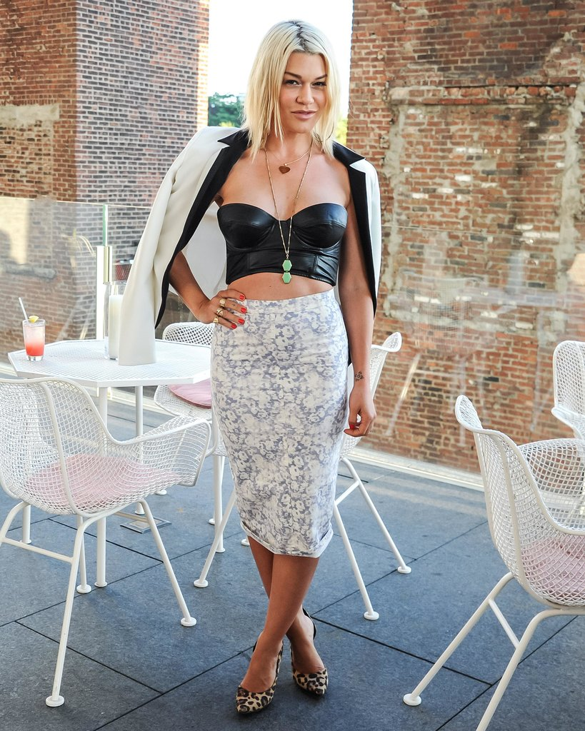 Jenne Lombardo at a dinner Neville Wakefield and Richard Phillips hosted in New York to celebrate the Playboy Marfa project. Source:  Billy Farrell/BFAnyc.com