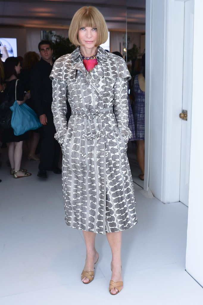 Anna Wintour at Clinique's Dramatically Different Party in New York. Source: Joe Schildhorn/BFAnyc.com