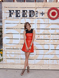 Karlie Kloss at the FEED USA and Target launch event in Brooklyn.