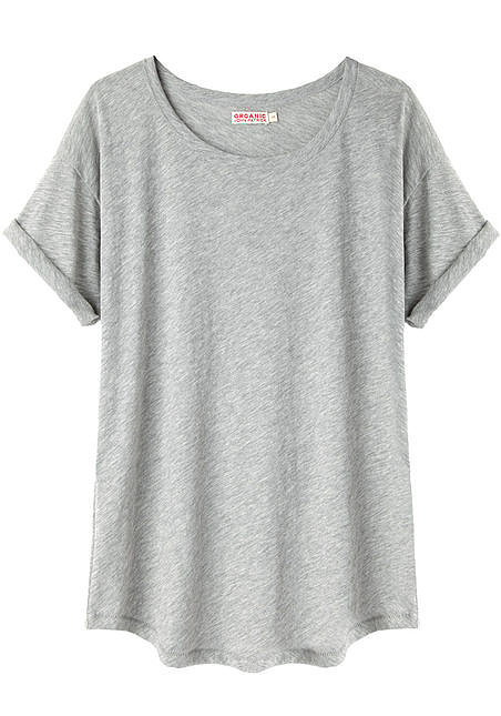Just when we think a t-shirt couldn't feel any better to wear, Organic by John Patrick proves us wrong! The eco-brand's rolled-sleeve option ($78) is pro-Earth and pro-style.