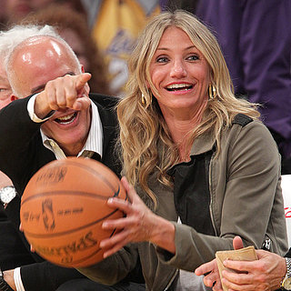 Celebrities at Basketball Games | Pictures