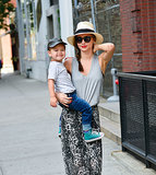 Miranda Kerr and her most regular accessory — adorable son Flynn — looked equally chic as they wandered around New York City on June 18.