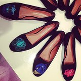 No matter our zodiac sign, we wanted every pair of Rebecca Minkoff's astrological flats.