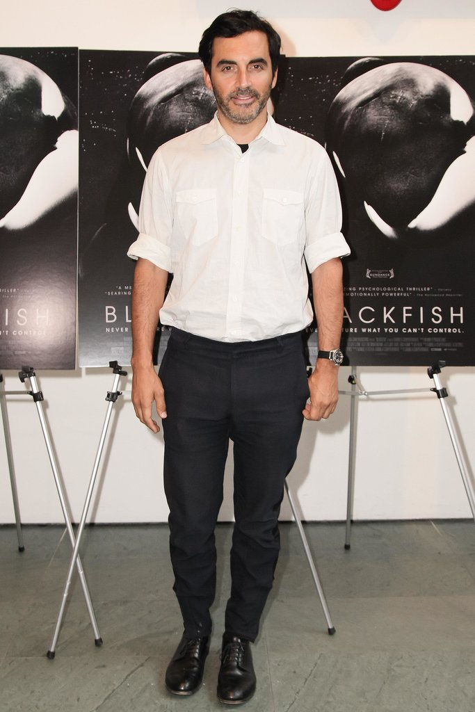 Yigal Azrouël at a CNN Films and Magnolia Pictures screening of Blackfish in New York. Source: Matteo Prandoni/BFAnyc.com