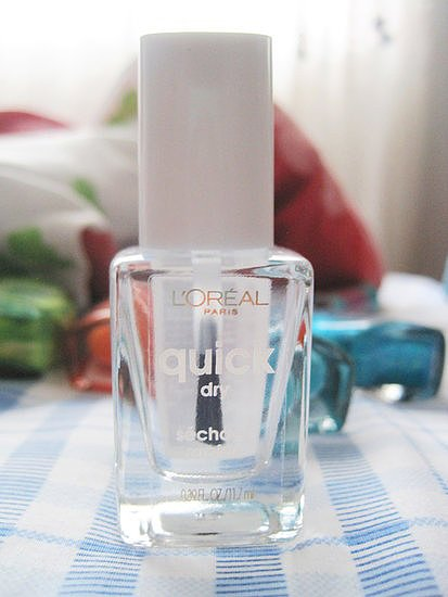 Sealing in your Summer manicure isn't the only use for clear nail polish. Our Pinterest followers are also finding new innovative ways to use a bottle of clear lacquer.   Source: Flickr user kimberlyac