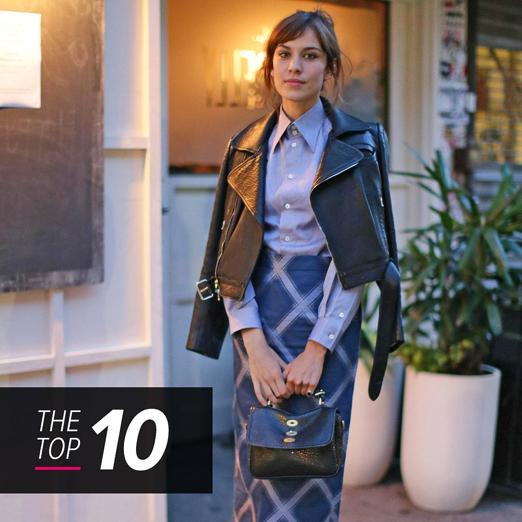 Alexa Chung, Kerry Washington, and More Star in This Week's Top 10