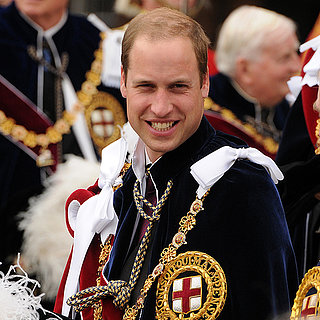 Prince William at Order of the Garter Service 2013