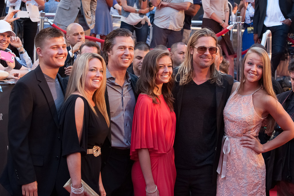 Brad Pitt had his brother Doug's family by his side for the NYC premiere of World War Z. Later in the week, Brad popped up on the red carpet in Russia.