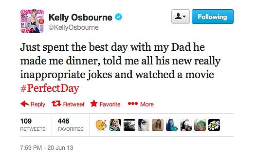 Life as an Osbourne sounds like a bit of fun.