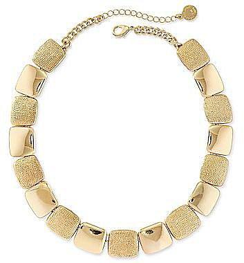 Liz Claiborne Gold-Tone Collar Necklace