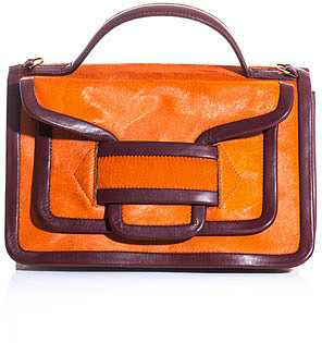 Pierre Hardy Calf skin and leather shoulder bag