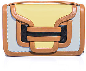Pierre Hardy Leather contrast panel bag