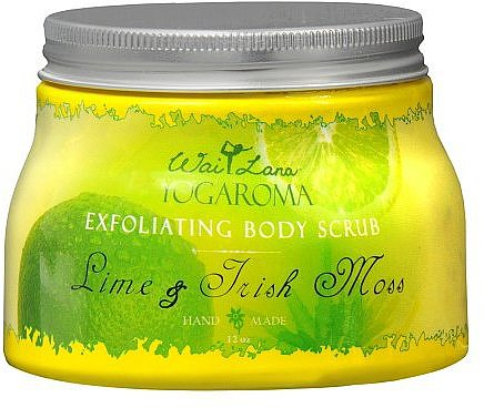 Wai Lana Yogaroma Exfoliating Body Scrub Lime & Irish Moss