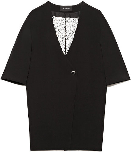 Preorder Thakoon Jeweled Cocoon Coat