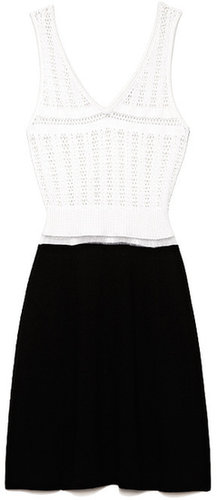 Preorder Thakoon Thread Lace Flared Knit Dress