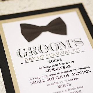 Groom's Survival Kit