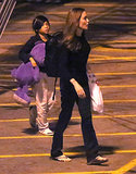 Angelina Jolie and Her Travel Pal Pax Return Home After Diplomatic Stop
