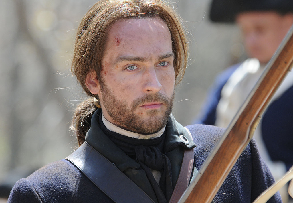 Tom Mison as Ichabod Crane on Sleepy Hollow.