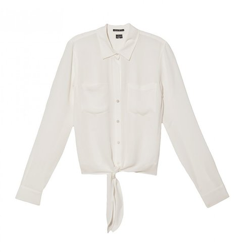 Theory Orencia Tie Top