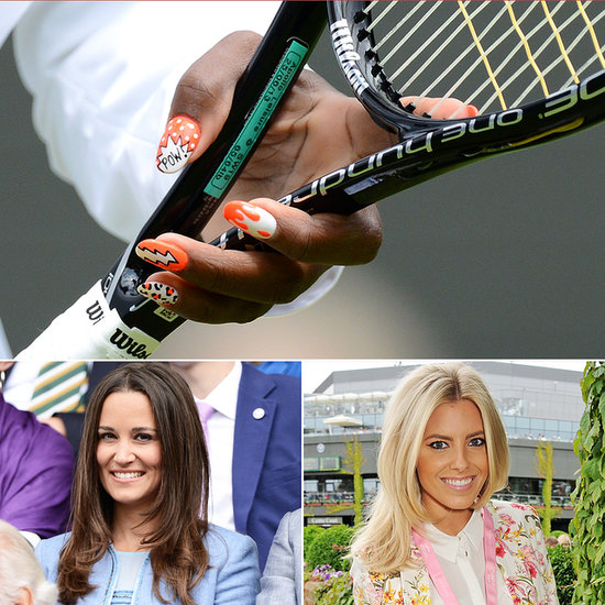 All of the Beauty Looks from Wimbledon (So Far!)
