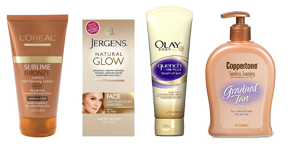 10 Top Self-Tanners, All Under $10