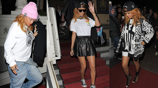3 Style Lessons We Learned from Rihanna's Trip to Amsterdam