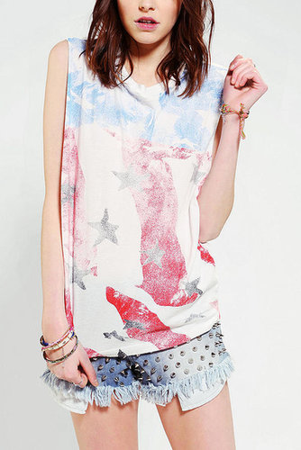 Truly Madly Deeply Americana Muscle Tee