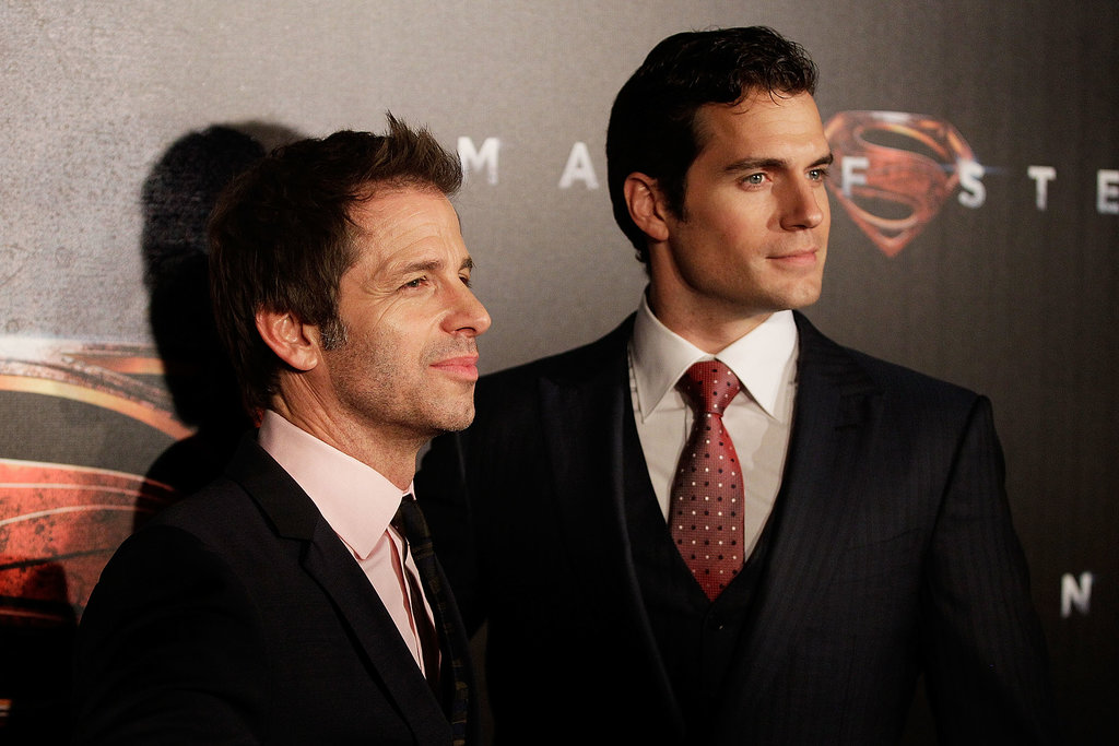 Zack Snyder and Henry Cavill