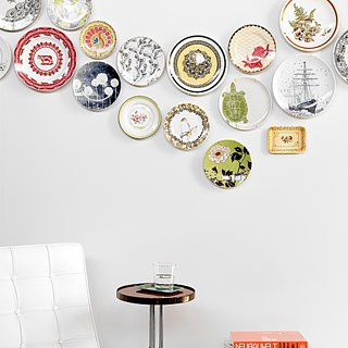 Plate Wall Decor DIY