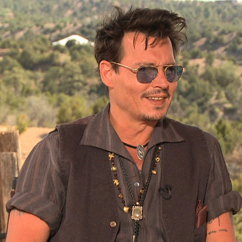 Johnny Depp Lone Ranger Interview | Video