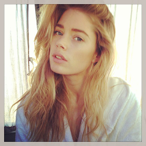 Doutzen Kroes shared this glamorous close-up shot. Source: Instagram user doutzen