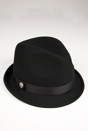 Ben Sherman Felt Trilby Hat in Black