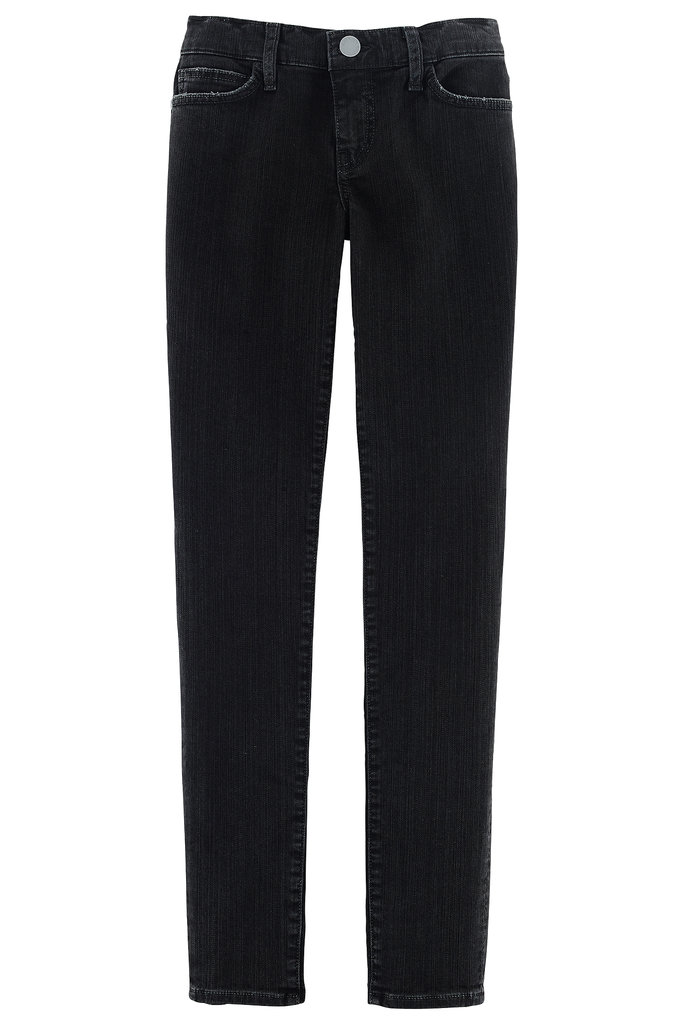 If you don't have a pair of sleek black denim in your wardrobe already, invest in the Jane skinny jeans ($118). Photo courtesy of Rebecca Minkoff