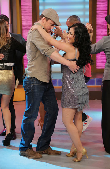 Channing Tatum hit the dance floor on the set of Univision's Despierta América in Miami in June.
