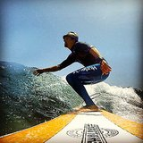 Jason Mraz went surfing during a break with friends. Source: Instagram user jason_mraz