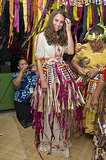 Kate Middleton got into the island spirit during a September 2012 visit to the Solomon Islands.