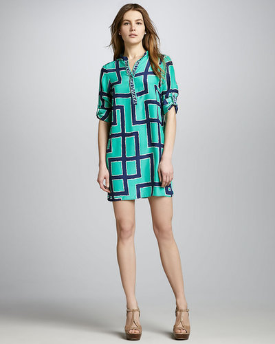 Alice & Trixie Holland Printed Silk Dress