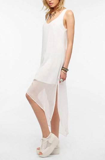 This Sparkle & Fade Crinkled Chiffon Dress ($20) is perfect for days when it's too hot to get dressed.