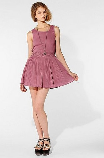 A soft pink hue and fit-and-flared silhouette make this MinkPink We All Shine Open-Back Dress ($20) perfectly girlie.