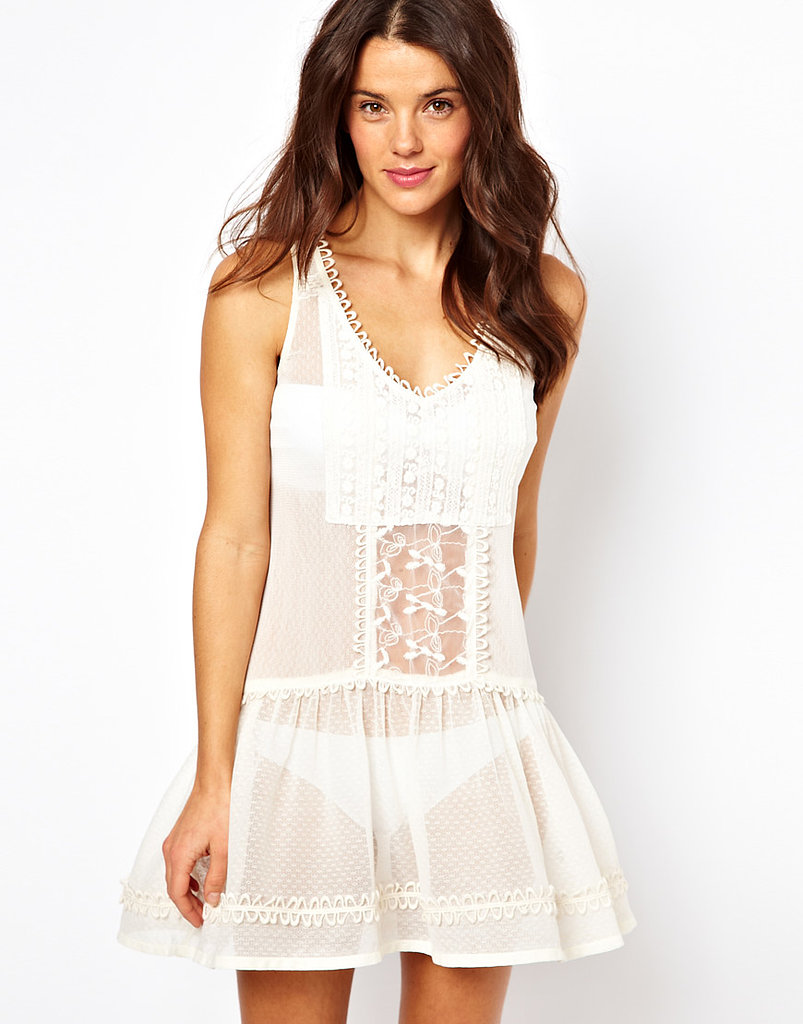 This River Island Crochet Drop Waist Dress ($48) would make the perfect beach cover-up.