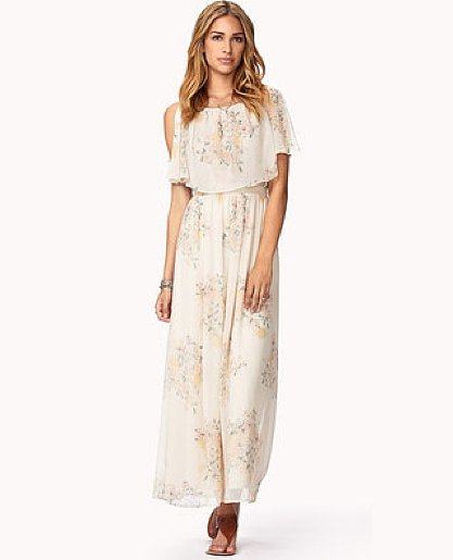 Channel a little garden-party-inspired elegance with this Forever 21 Whimsical Floral Maxi Dress ($30), even if you're just hanging out in the city.