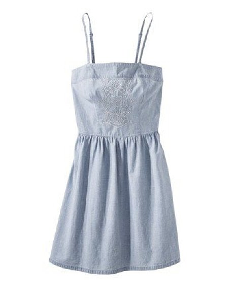 There's a sweetness and easiness to this Merona Women's Chambray Sundress ($28) that we love.