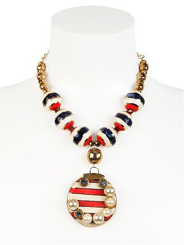 Gypsy Sunset Gold Plated Necklace